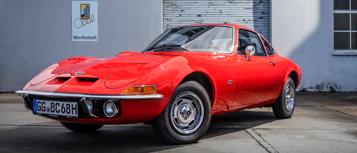50 jaar Opel GT