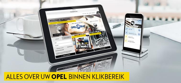 Nieuwe myOpel.be