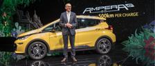 CEO d'Opel présente Opel Ampera-e