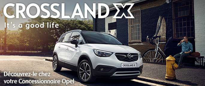 Crossland X Launch