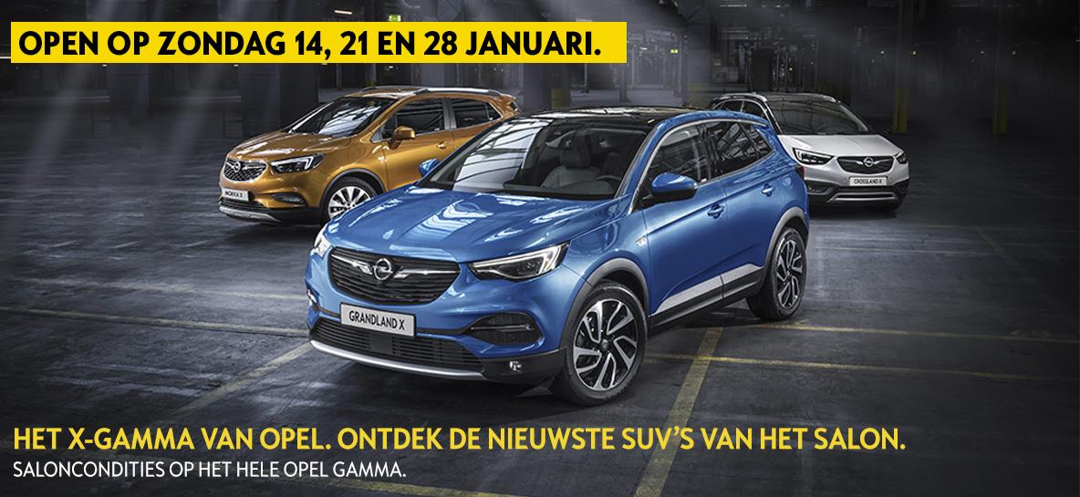 Het X-gamma van Opel
