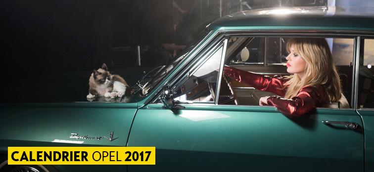 Calendrier Opel 2017