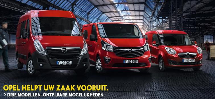 Opel helpt uw zaak vooruit